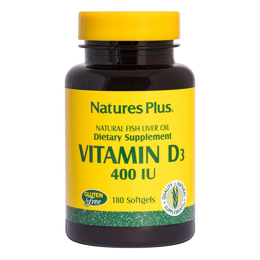Vitamina D 400 UI (olio di pesce)