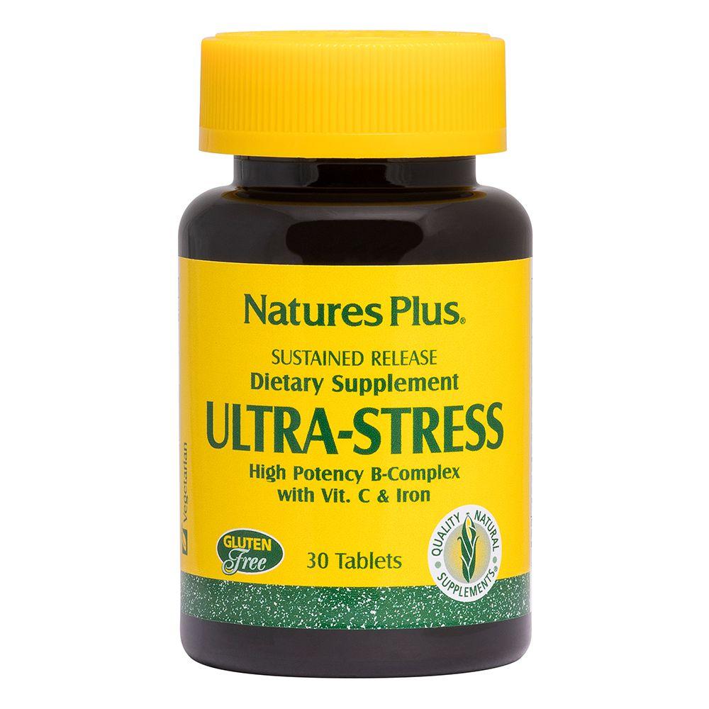 Ultra Stress complesso B, C e ferro