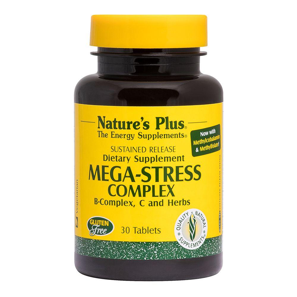 Mega Stress complesso B con erbe