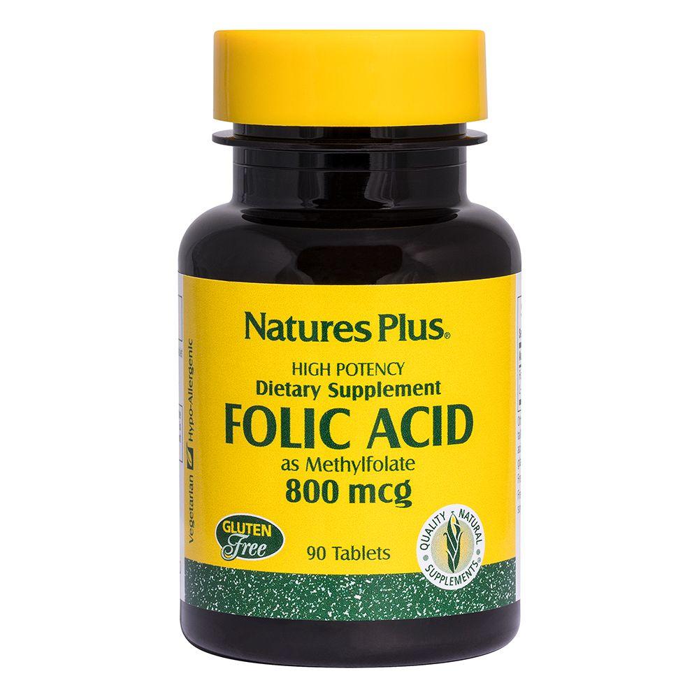 Acido folico mcg 800