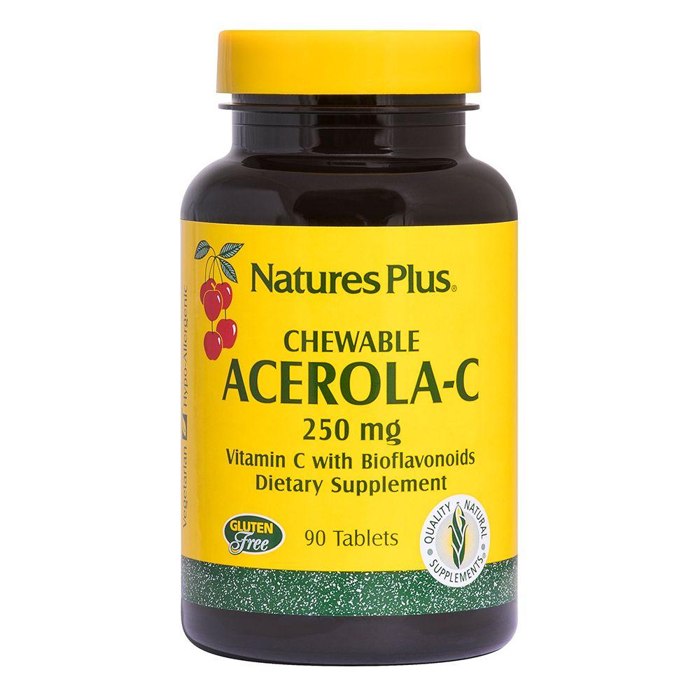 Acerola C masticabile 250 mg