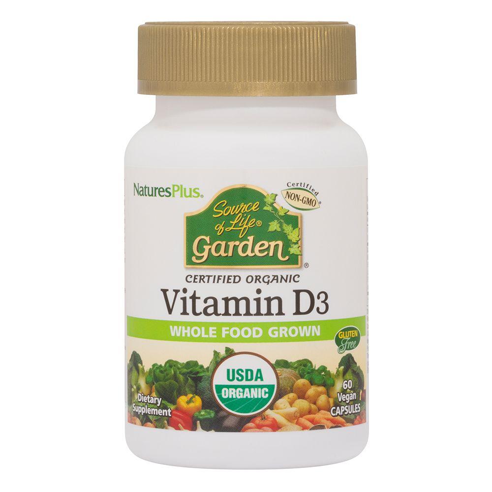 Vitamina D3 SoL Garden da funghi vegano