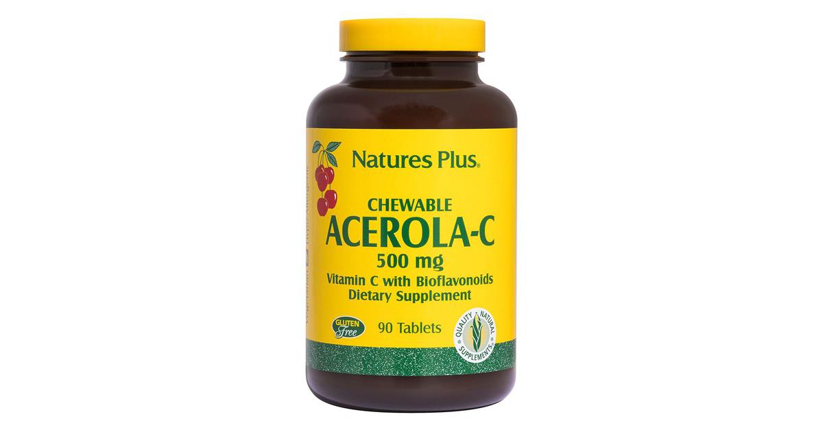 Acerola C masticabile 500 mg