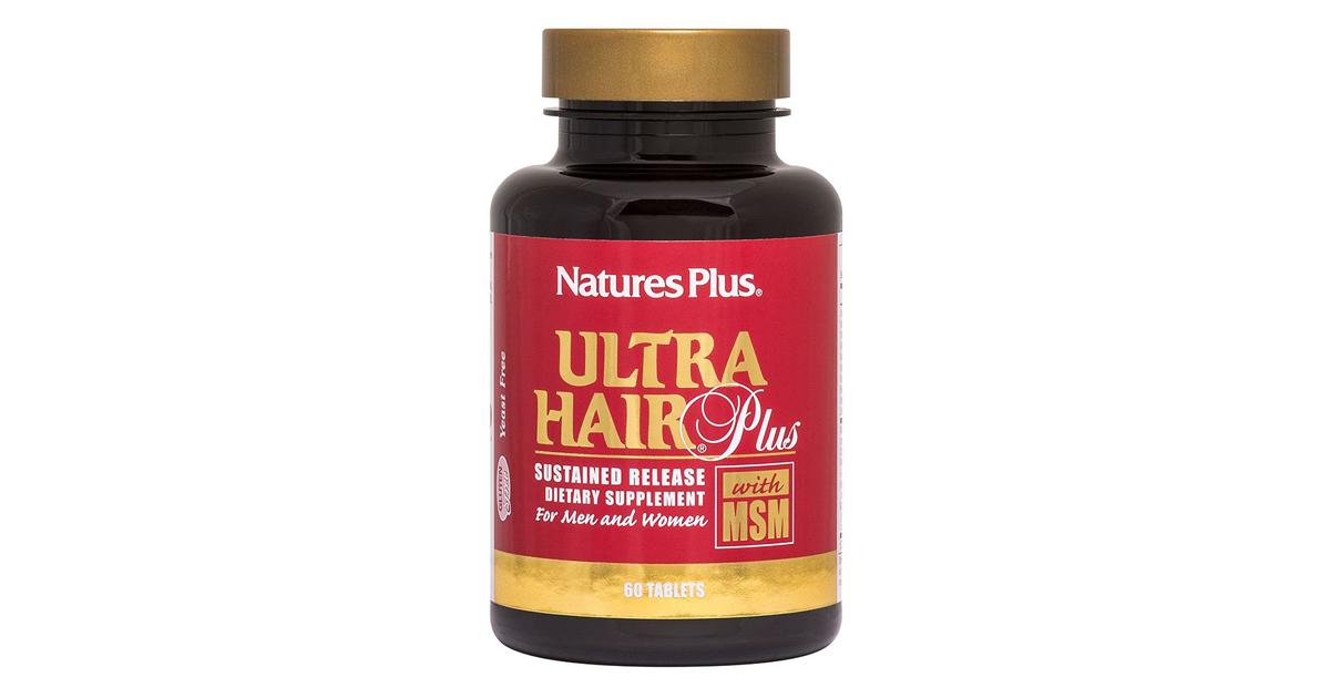 Ultra Hair Plus con MSM (per capelli)